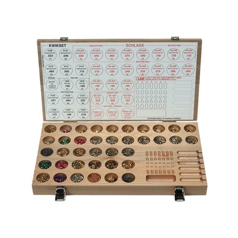 Lab Brand Wood Schlage Kwikset Rekeying Kit Lab